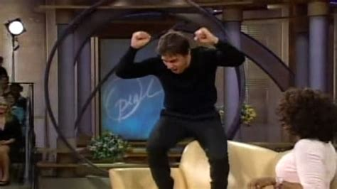 oprah couch 10 years ago tom cruise jumps oprah s couch today com