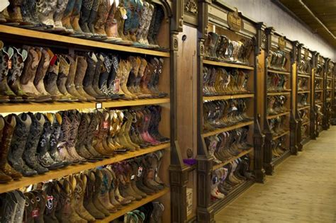 cowboy boot store wall to wall boots best selection i seen anywhere