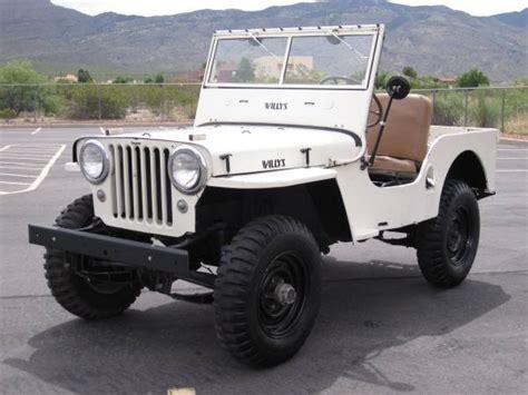1948 Willys Jeep For Sale 1948 Cj 2a Alamogordo Nm 10 500 Ewillys
