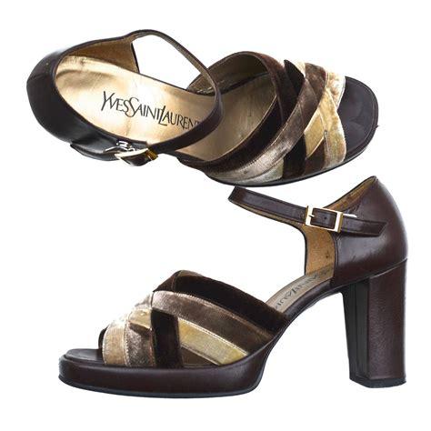 ysl platform sandal ysl platform sandals at 1stdibs