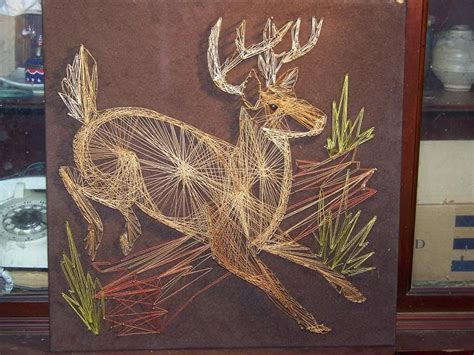 deer patterns and wood wall design on pinterest deer string art 25 photo stringartdeer jpg string art