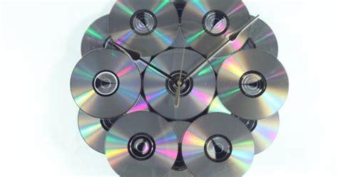 cara membuat jam dinding mainan dari karton tualang daur ulang cd bekas menjadi jam dinding