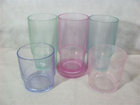 Low Glass Tupperware 250ml tupperware acrylic tumblers shop collectibles daily