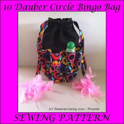 crochet pattern for bingo bag free bingo 10 dauber bag sewing pattern sewing