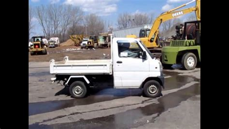 mitsubishi mini truck bed size 1999 mitsubishi minicab truck with dump bed for sale