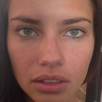 9 pictures of adriana lima without makeup | styles at life