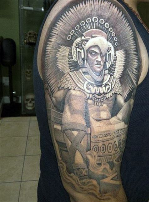 aztec gods tattoos 80 aztec tattoos for ancient tribal and warrior designs