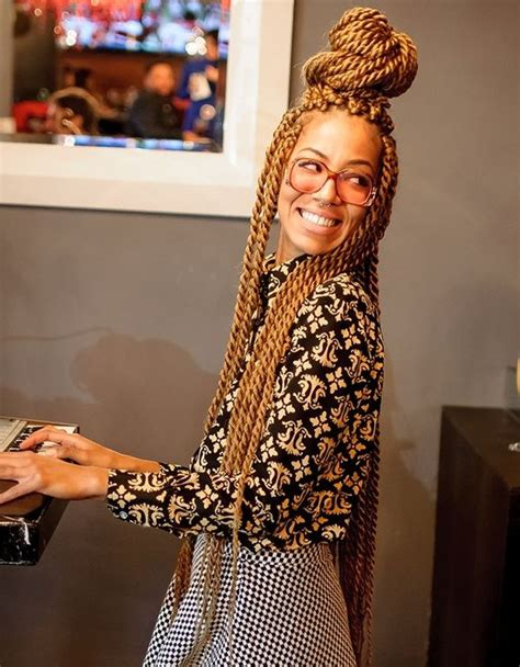 large black and blond braids blonde box braids black roots google search hairstyles