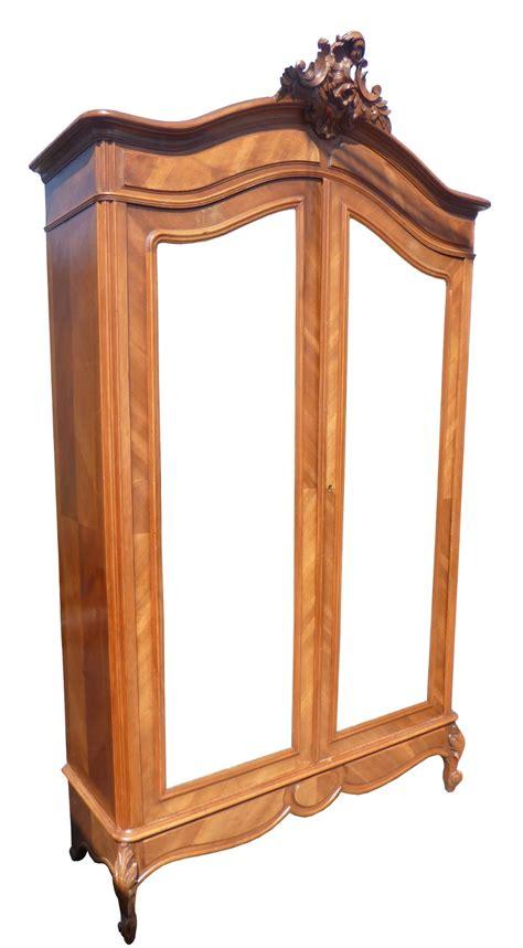 rococo armoire 19th century walnut rococo armoire 402296