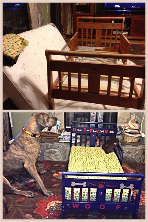 dog beds for great danes old toddler bed now a dog bed for our great dane the