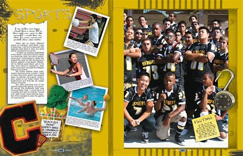 yearbook layout ideas for sports yearbook ideas books pinterest