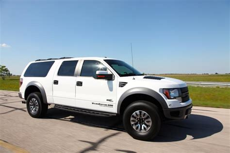 Ford F 150 Velociraptor by Badass Alert Hennessey Velociraptor Suv Gives The Ford F