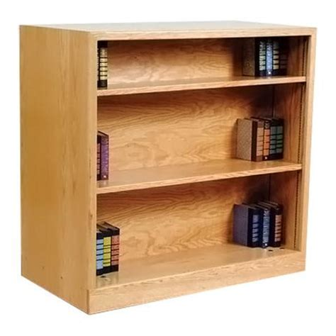 sided bookcase defoe furniture 4