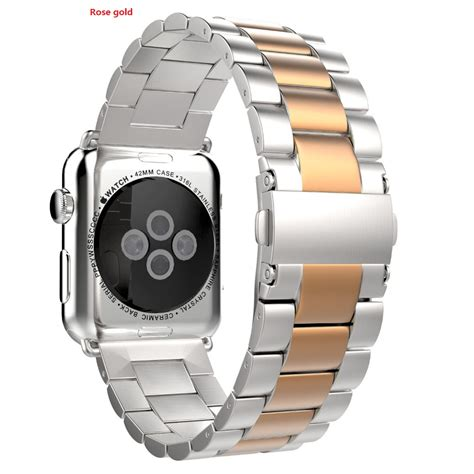 Apple 42mm 38mm Silver silver stainless steel band bracelet wristband