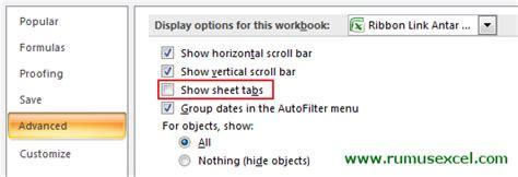 membuat link antar sheet cara membuat ribbon link antar sheet di excel