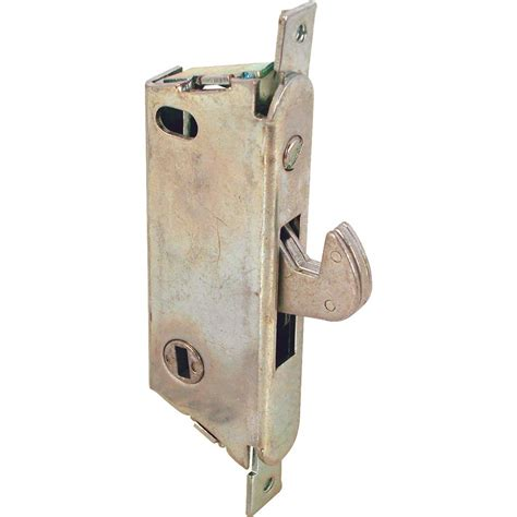 Sliding Patio Door Locks Home Hardware by Prime Line Sliding Glass Door Mortise Latch E 2009 The