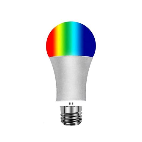 color timing voice remote indoor wifi bulb mobile phone dimming