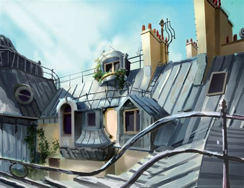 paris miraculous ladybug wiki fandom powered by wikia image paris rooftops painting png miraculous ladybug