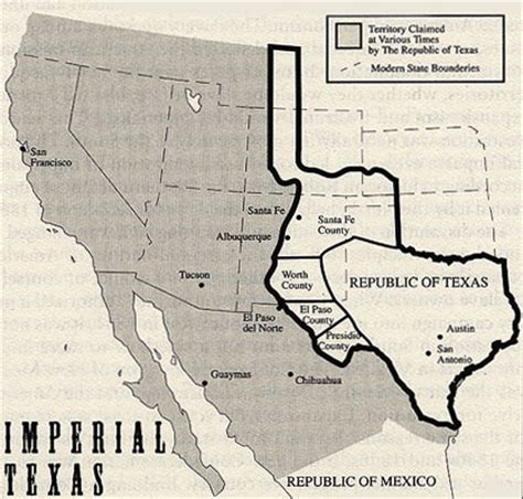 original map of texas 4 imperial texas big think