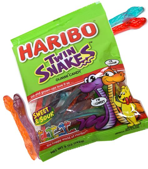 haribo gummy snakes 5oz blaircandy