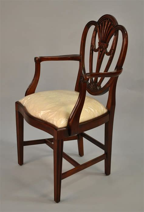 mahogany dining room chairs swag sweetheart shield back dining room chairs solid mahogany
