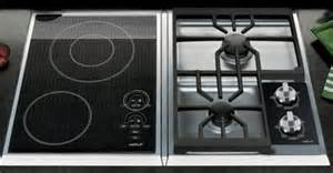 Induction And Gas Combination Cooktop Modular Cooking With Integrated Wolf Modular Cooktops