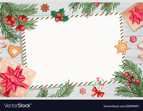 template christmas letters wishes vector image