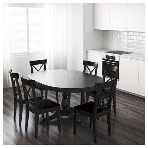 ingatorp extendable table black ingatorp extendable table black 110 155 cm ikea