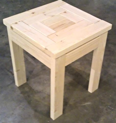 More Like Home: Day 22   Build a Craftsman Style End Table