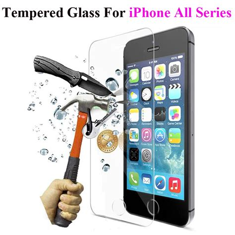 Iphone 5 5s 6 6s 6plus Temperedglass Screen Guard Anti Glare Protector Tempered Glass Screen Protector For Iphone 5 5s 5se 6 6s