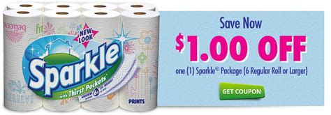 Printable Sparkle Paper Towel Coupon