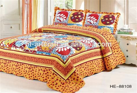 bed sheet fabric new design beautiful printed cotton fabric wholesale bed