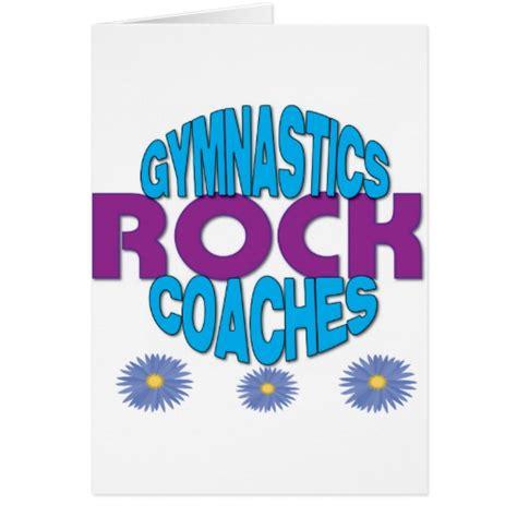 Coach E Gift Card - gymnastics coach gift cards zazzle