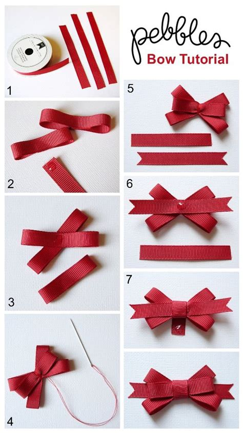 How To Make A Bow With Paper Ribbon - bow tutorial by mendi yoshikawa pebblesinc mendi