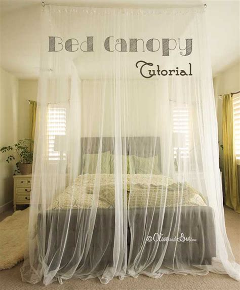 diy canopy bed 20 magical diy bed canopy ideas will make you sleep