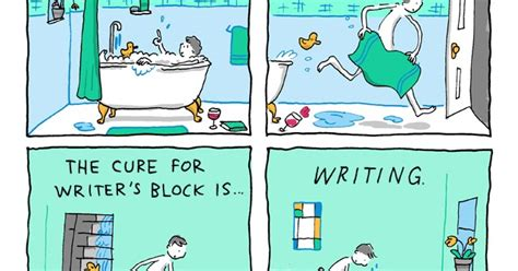 8 Cures For Writers Block by Incidental Comics A Cure For Writer S Block