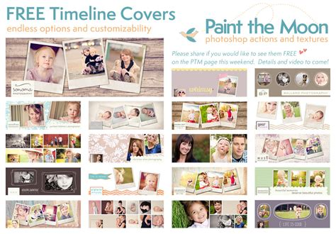 cover photo template michellemybelle creations free timeline cover