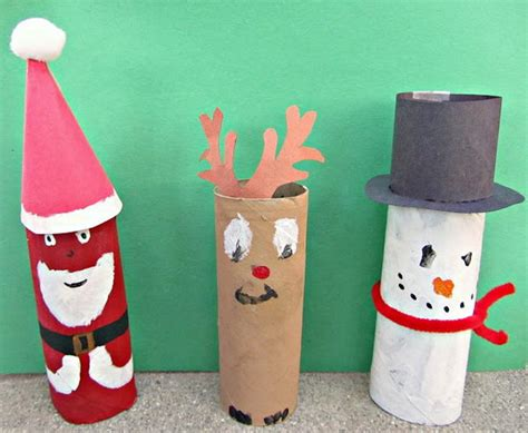 Toilet Paper Roll Snowman Craft - search results for toilet paper roll santa craft