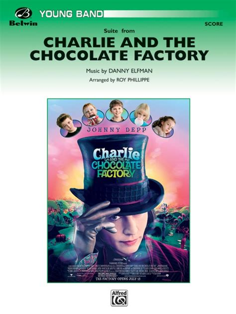danny elfman charlie and the chocolate factory charlie and the chocolate factory suite from concert