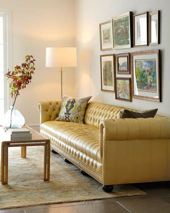 butter yellow leather sofa the 25 best chesterfield leather sofa ideas on pinterest