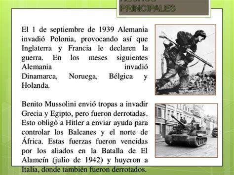 Resumen 1 Guerra Mundial by Segunda Guerra Mundial Resumen Corta