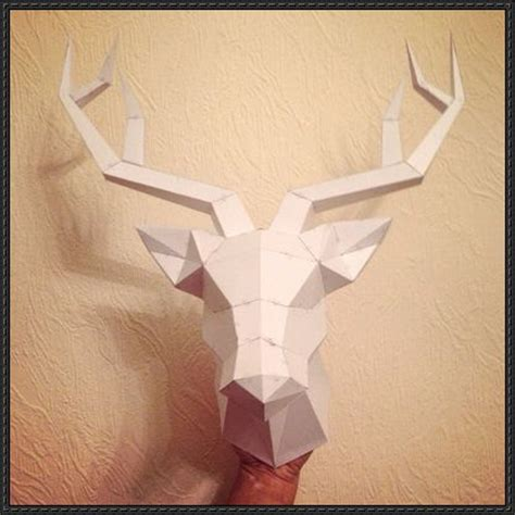 Papercraft Deer - best 25 papercraft ideas on elder