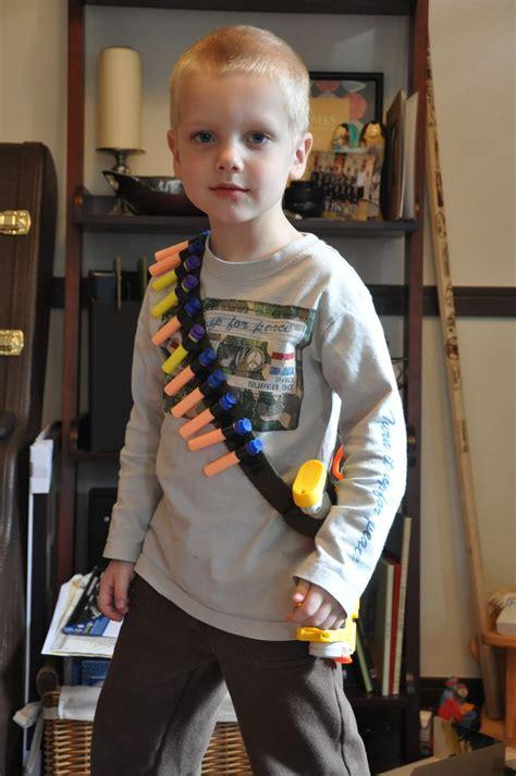 cotton belt   length  ribbon nerf dart bandolier  holster