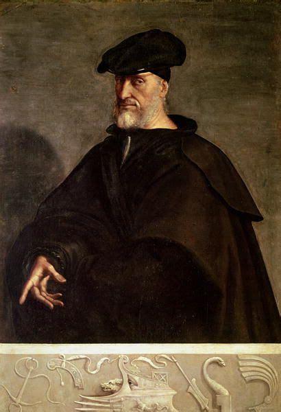 Simon Renard De André Vanité by Portrait Of Andrea Doria Sebastiano Piombo C 1526