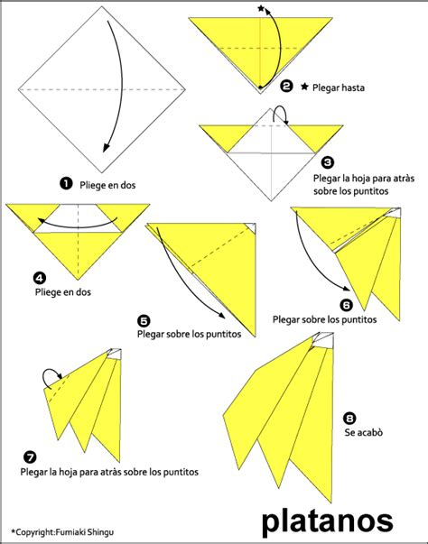 Origami Clubs - origami bananas