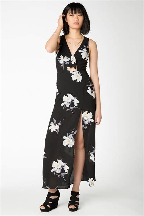 Maxi Fiona black fiona floral maxi dress s