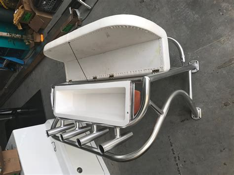 boat backrest leaning post with removable backrest the hull truth