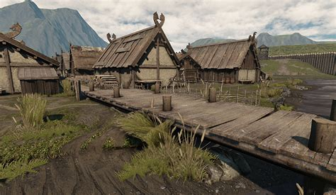 Fishing Wall Murals viking village pictures to pin on pinterest pinsdaddy