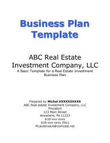 Business Plan Title Page Template by How To Write Business Plan Cover Page For Investors