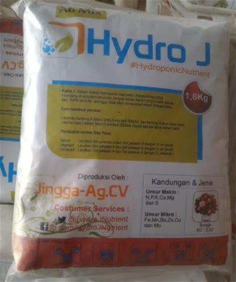 Pupuk Ab Mix Untuk Aquascape hydro j nutrisi bunga 5 l pekatan 1 8 kg jual tanaman